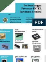 [Tugas Presentasi] Perkembangan Prosessor Intel Dari Masa Ke Masa