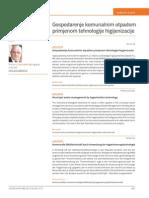 Gospodarenje Komunalnim Otpadom Primjenom Tehnologije Higijenizacije