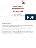 MN.127  Anuruddha sutta - Govor Anurude