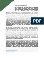 Discurso Educaivo-cultural de Chile