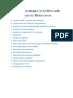teaching strategies for children with emotional disturbances2