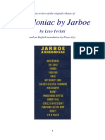 Italian review of the original release of Anhedoniac by Jarboe, by Lino Terlati and an English translation by Pieter Uys