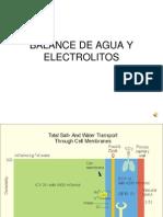 Balance de Agua y Electrolitos