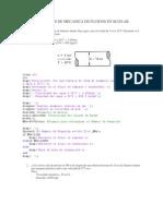 Problemas en Matlab