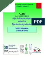 Organisation de La Qualite Dans L-Entreprise-Demarche Qualite