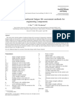 An Evaluation of Multiaxial Fatigue Life Assessment Methods For