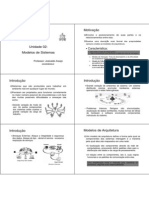 UNIDADE 02 - Modelos de Sistema