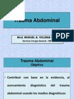 Trauma Abdominal - Dr. Villena 2012