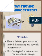 essaytipsgradingsymbols-121020212750-phpapp02