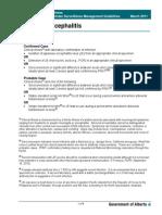 Guidelines Japanese Encephalitis 2011