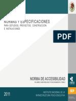 Volumen 3 Tomo II Norma Accesibilidad 2011