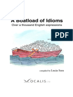 A Boatload of Idioms - Over a Thousand English Expressions