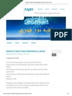 Riwayat Hidup Dan Pemikiran Al-kindi _ Faqih Nur Fajry