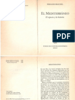 Braudel El Mediterráneo El Espacio y la historia