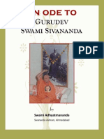 An Ode to Swami Sivananda