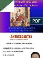 Reunión Catequistas en Reyes. 14 de Agosto.