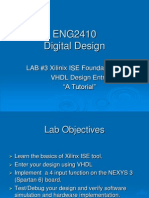 Eng241 Lab3 Ise Vhdl