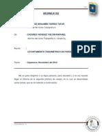 INFORME-LEVANTAMIENTO TAQUIMETRICO