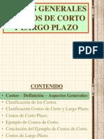 Costos a Corto y a La Largo Plazo