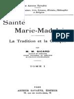 Sainte Marie-Madeleine (Tome 1) 000000900