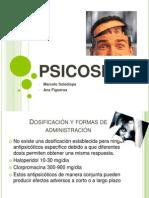 PSICOSIS psicofarmaco