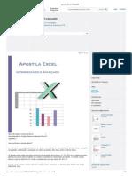 Apostila Excel Avançado