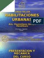 Curso Taller Habilitaciones Urbanas Chiclayo