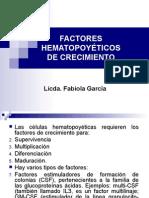 Factores Hematopoyéticos de crecimiento