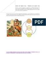Organización Administrativa del Imperio inca