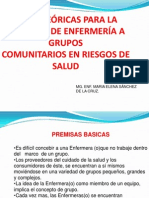 Atencion a Grupos Comunitarios 2007