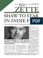 Friends' Gazette October Edition