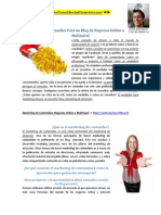 Marketing de Contenidos Para un Blog de Negocios Online o Multinivel