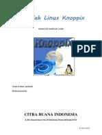 Makalah Linux Knoppix