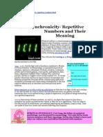 Sequencias numéricas e seus significados