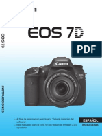 EOS 7D Instruction Manual ES