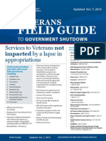Veterans Field Guide to Government Shutdown