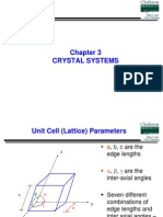 Lecture 4 - Crystal Systems