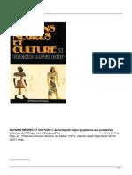 Nations Negres Et Culture