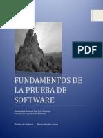 Fundamentos de La Prueba de Software