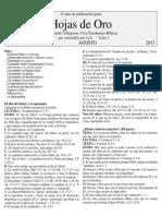 190 Hojas de Oro Agosto 2013 Print Copy