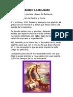 ORACION A SAN LAZARO.doc