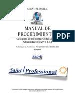 Guía de Procesos SAINT
