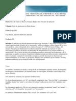 Instrumentos Publicos. Presuncion de Autenticidad. Art. 1027 CC, 911 CC (13.09.13)