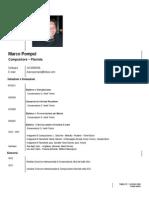 curriculum - musicale - 2013 - marco pompei
