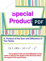 04 Special Products and Factoring
