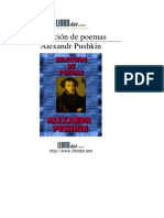 550275 Aleksander Pushkin Seleccion de Poemas PDF