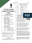 Parish Bulletin October 5-6, 2013
