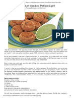 Bolinho de Atum Assado_ Petisco Light