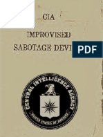 Improvised Sabotage Devices