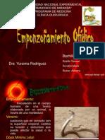 CLÍNICA Y DIAGNÓSTICO DE EMPONZOÑAMIENTO OFÍDICO rojo